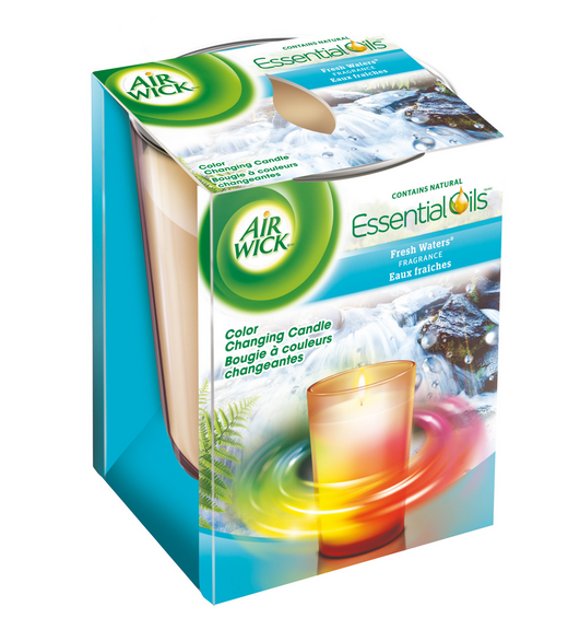 AIR WICK Color Changing Candle  Fresh Waters Canada Photo