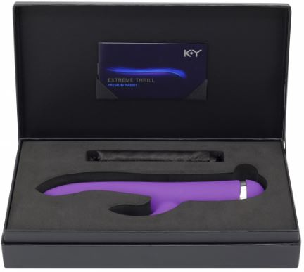 K-Y® Extreme Thrill Rabbit Massager Vibrator