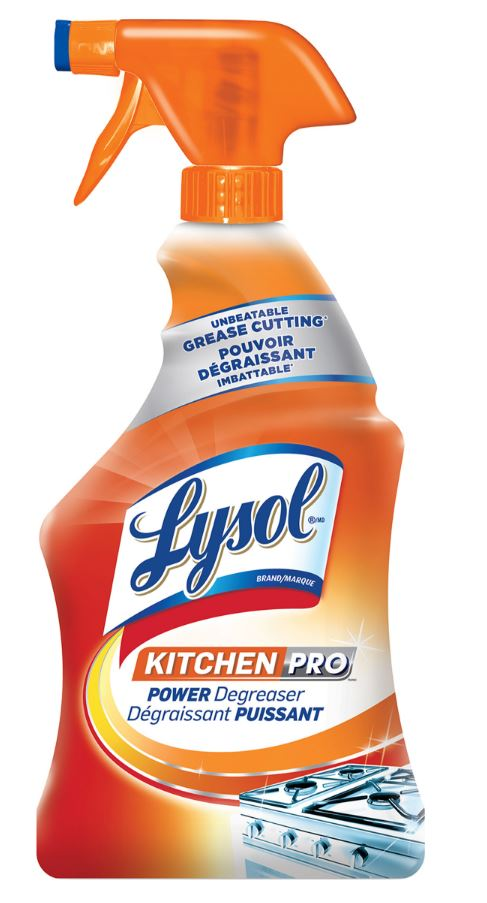 LYSOL Kitchen Pro Power Degreaser Canada Photo