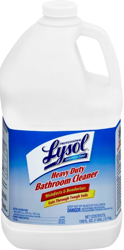 Professional LYSOL® Heavy Duty Bathroom Cleaner Concentrate