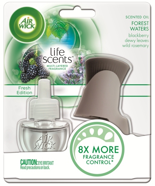 AIR WICK Scented Oil  Forest Waters  Kit Discontinued Photo