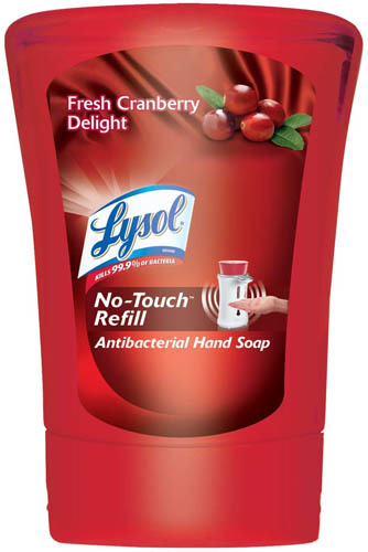 LYSOL NoTouch Hand Soap  Fresh Cranberry Delight Photo