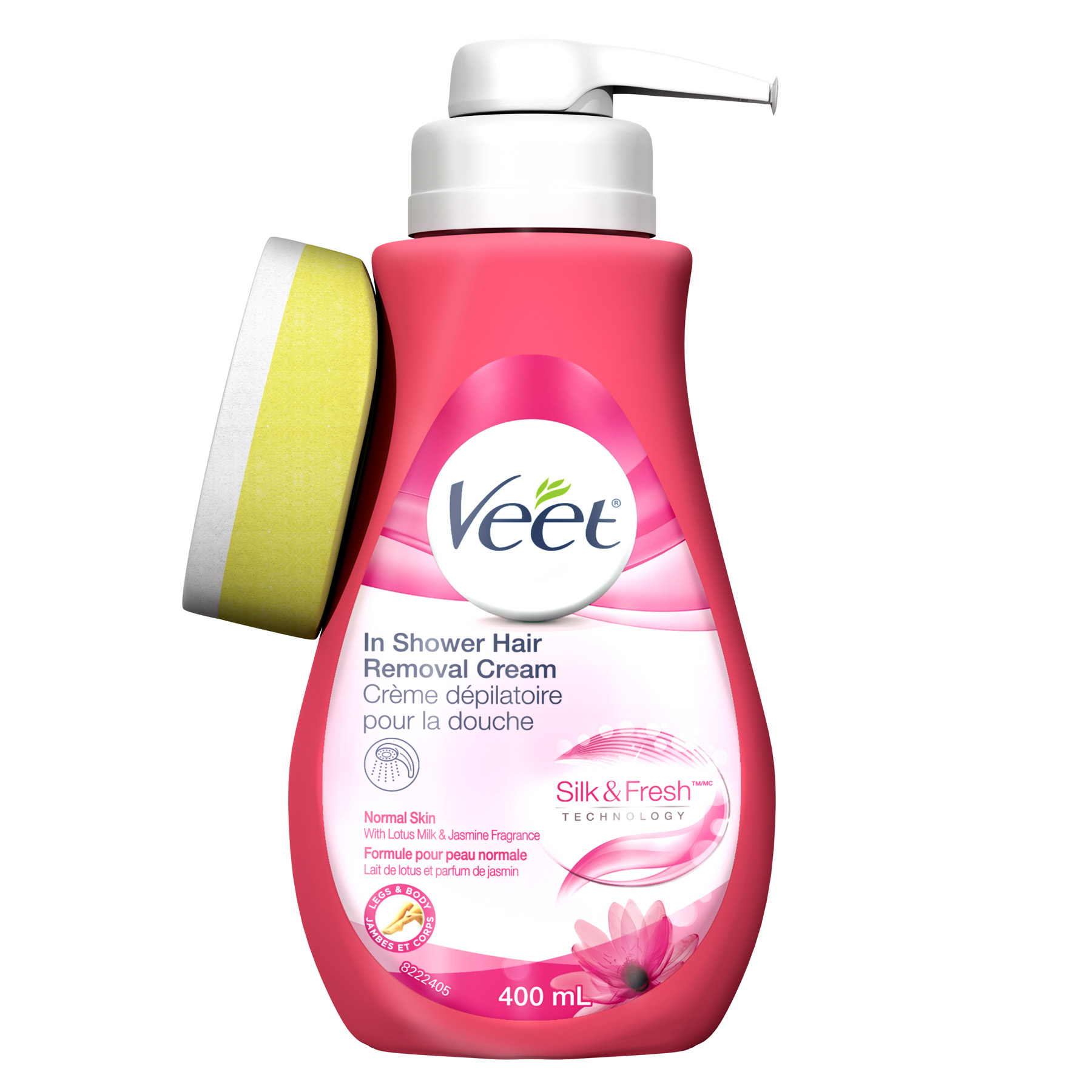 VEET® Silk & Fresh™ In Shower Hair Removal Cream - Normal Skin (Canada)