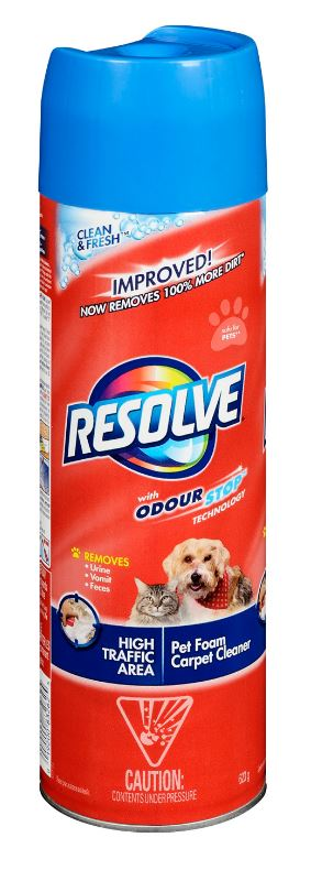 RESOLVE® Clean & Fresh™ High Traffic Area Pet Foam Carpet Cleaner (Canada)