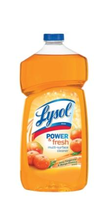 LYSOL® Brand Power & Fresh™ Multi-Surface Cleaner - Pourable - Tangerine Mango