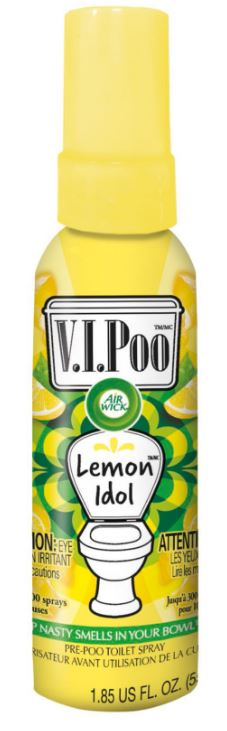 AIR WICK® VIPoo Pre-Poo Toilet Spray - Lemon Idol (Canada)