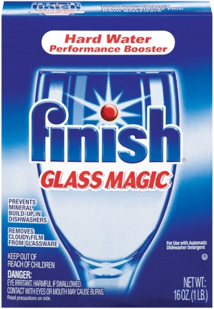 FINISH Glass Magic Dishwasher Performance Booster Discontinued Photo