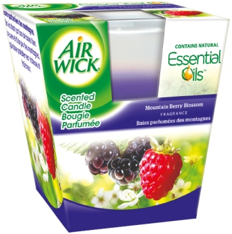 AIR WICK Scented Candles  Mountain Berry Blossom 35 oz Photo