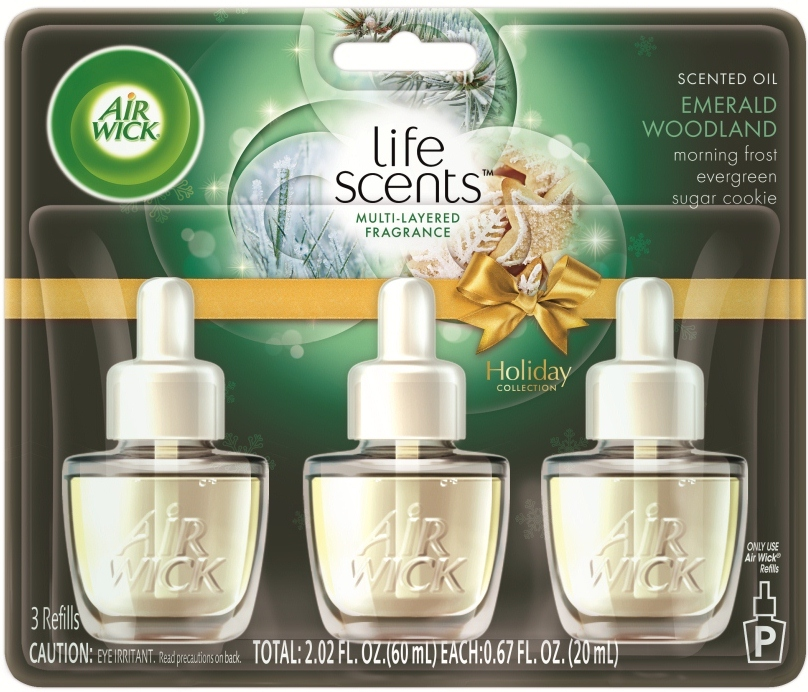 AIR WICK Scented Oil  Emerald Woodland Discontinued Photo