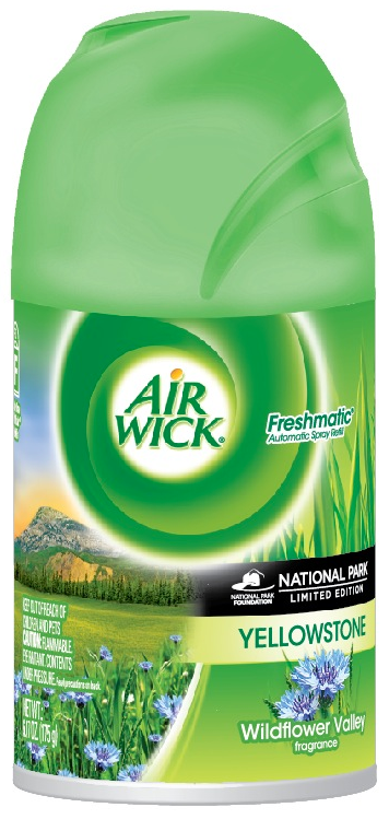 AIR WICK FRESHMATIC  Yellowstone National Parks  Kit Discontinued Photo