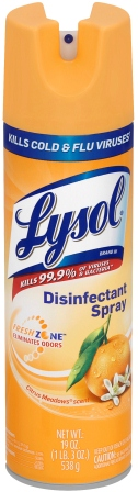 LYSOL® Disinfectant Spray - Citrus Meadows