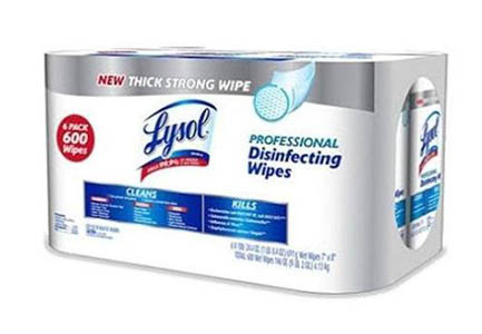 Professional LYSOL Disinfecting Wipes Photo