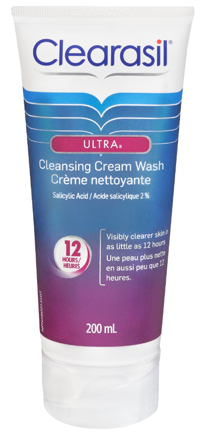 CLEARASIL® Ultra® Cleansing Cream Wash (Canada)