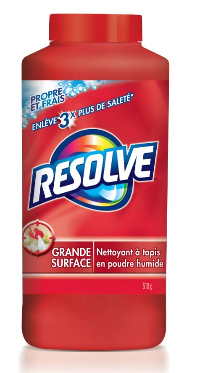 RESOLVE® Clean & Fresh™ Grande Surface Deep Clean Carpet Cleaner Powder (Canada)