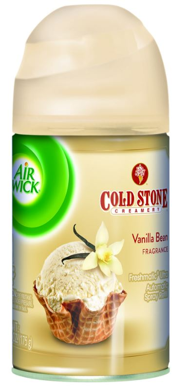 AIR WICK FRESHMATIC Ultra  Vanilla Bean Fragrance Cold Stone Creamery Photo