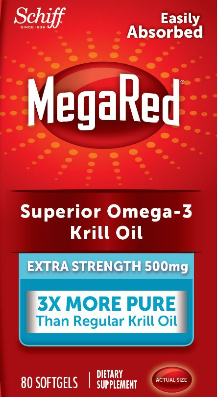 MegaRed® Superior Omega-3 Krill Oil Extra Strength - 500 mg Softgels