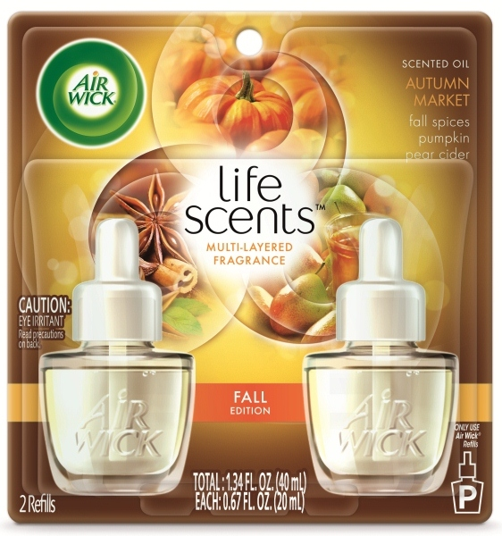 AIR WICK Scented Oil  Autumn Market Discontinued Photo