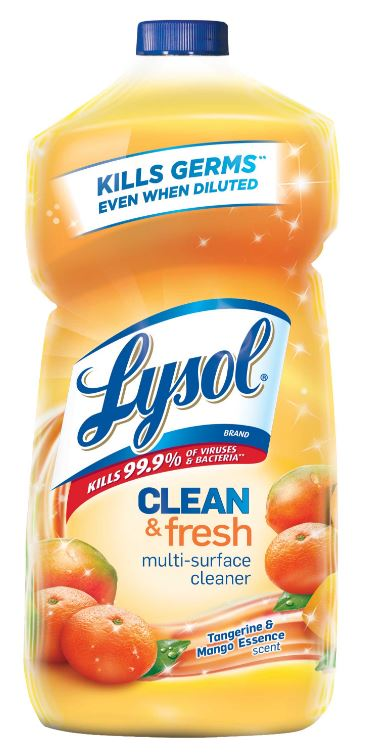 LYSOL® Clean & Fresh Multi-Surface Cleaner - Tangerine & Mango Essence