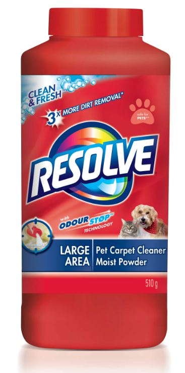 RESOLVE Clean  Fresh Large Area Pet Carpet Cleaner Moist Powder Canada Photo