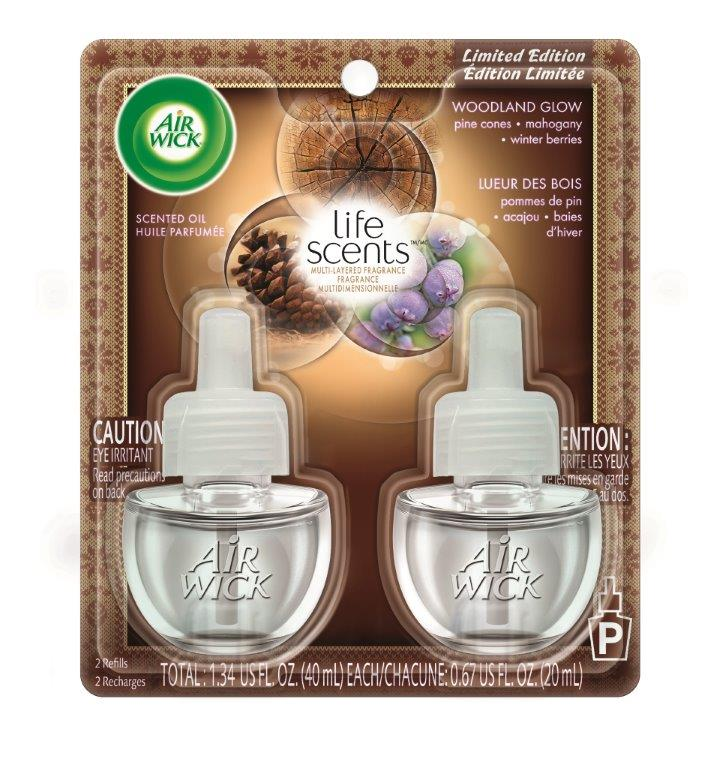 AIR WICK Scented Oil  Woodland Glow Life Scents Photo