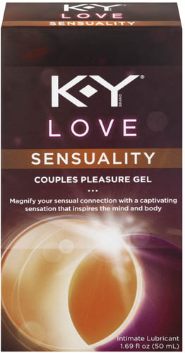 K-Y® Love Sensuality Couples Pleasure Gel