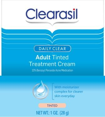 CLEARASIL Daily Clear Adult Tinted Acne Treatment Cream Discontinued Photo