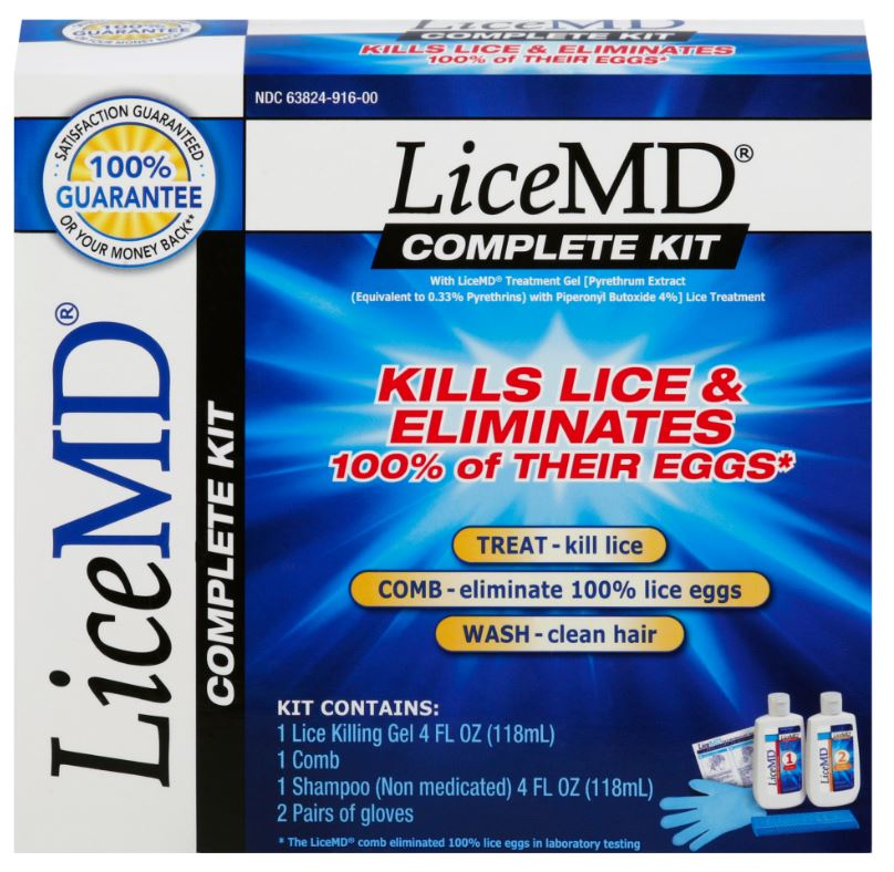 Lice MD® Complete Kit - Shampoo