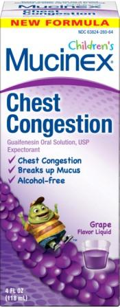 MUCINEX CHILDRENS Chest Congestion  Grape Photo