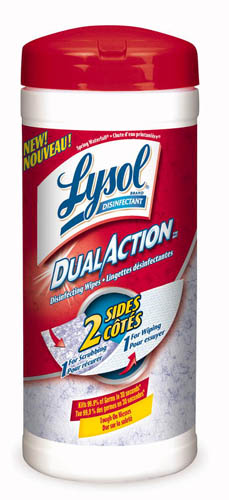 LYSOL Dual Action Disinfecting Wipes  Spring Waterfall Canada Photo