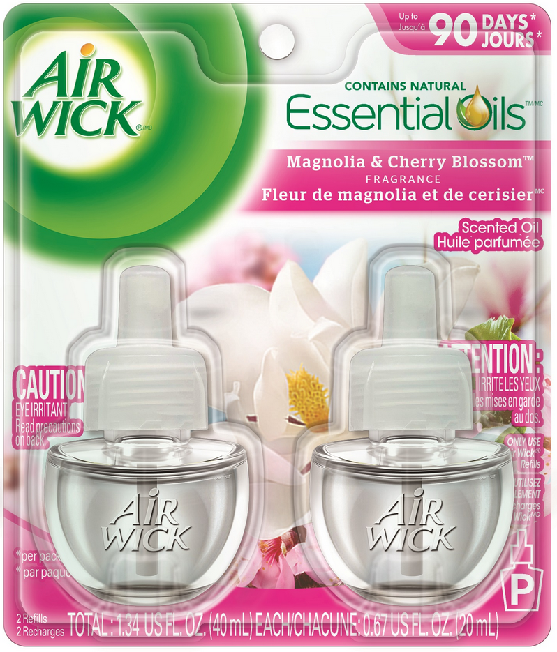 AIR WICK® Scented Oil - Magnolia & Cherry Blossom (Canada)