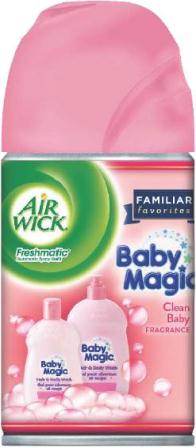 AIR WICK FRESHMATIC  Baby Magic  Clean Baby Discontinued