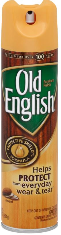 OLD ENGLISH Furniture Polish Aerosol  Almond Photo