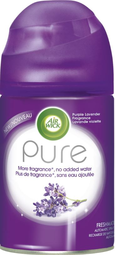 AIR WICK FRESHMATIC  Pure  Purple Lavender Canada Photo