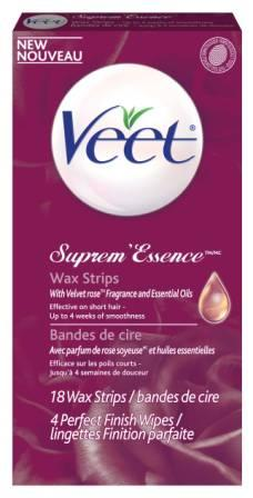 VEET® Suprem'Essence™ Wax Strips Kit Part 1 Wax (Canada)