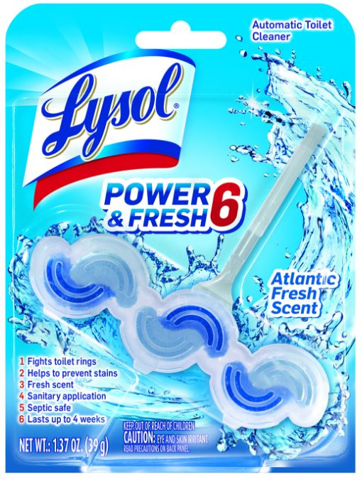 LYSOL® Automatic Toilet Cleaner Power & Fresh 6  - Atlantic Fresh