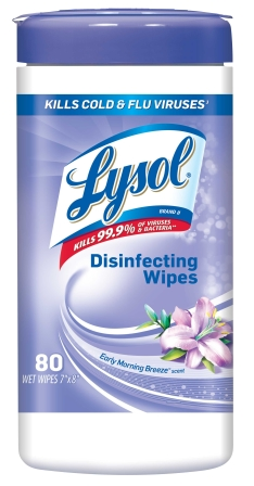 LYSOL® Disinfecting Wipes - Early Morning Breeze
