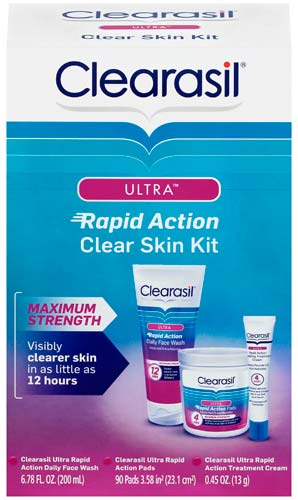 CLEARASIL Ultra Rapid Action Clear Skin Kit Photo