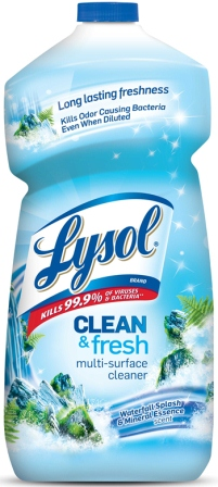 LYSOL® Clean & Fresh Multi-Surface Cleaner - Waterfall Splash & Mineral Essence