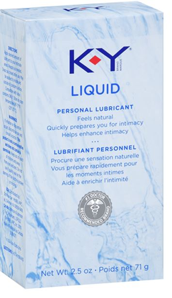 KY Liquid Personal Lubricant Canada Photo