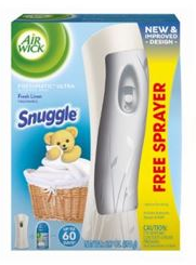 AIR WICK FRESHMATIC  Snuggle Fresh Linen  Kit Discontinued Photo