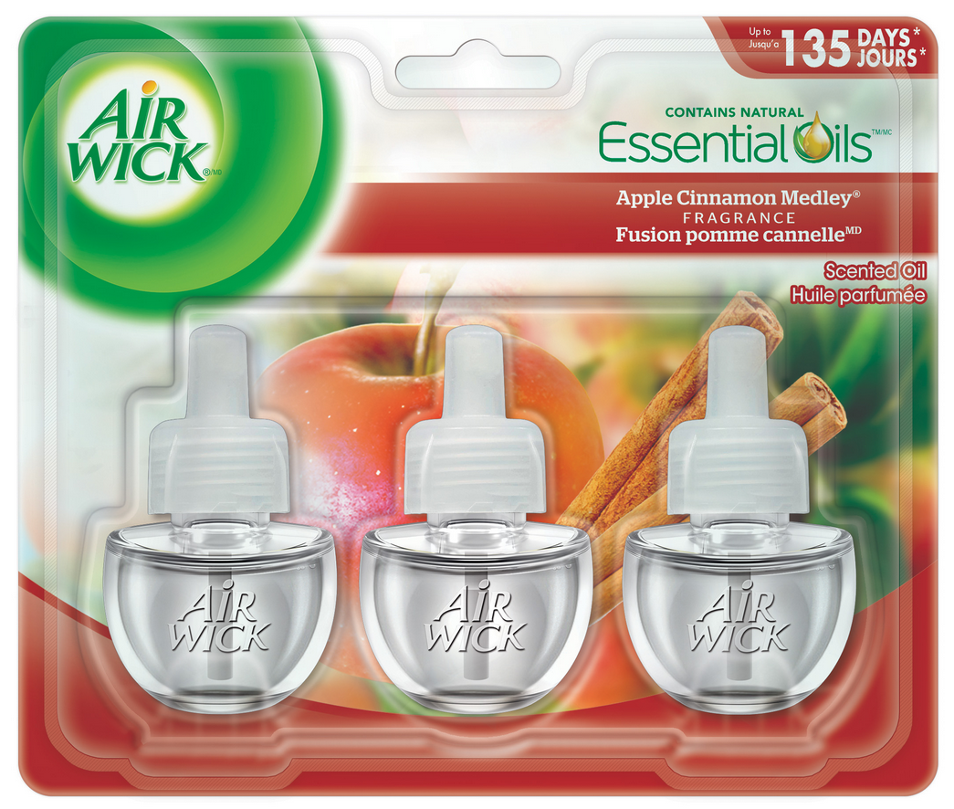 AIR WICK® Scented Oil - Apple Cinnamon Medley (Canada)