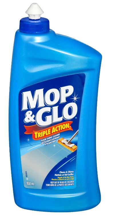 MOP  GLO Triple Action Floor Shine Cleaner Canada Photo