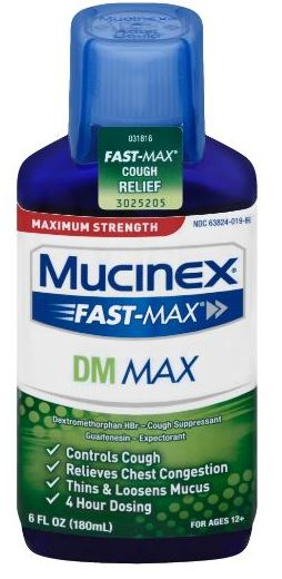 MUCINEX® FAST-MAX® DM Adult Liquid