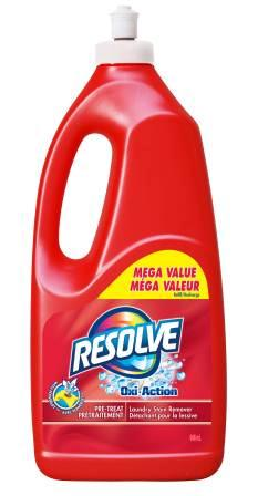 RESOLVE® Oxi-Action™ Pre-Treat Laundry Stain Remover - Push/Pull (Canada)