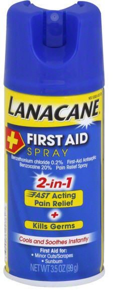 LANACANE First Aid Spray Photo