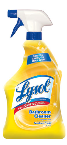 LYSOL Brand III Bathroom Cleaner Complete Clean  Trigger  Sunshine Fresh  Photo