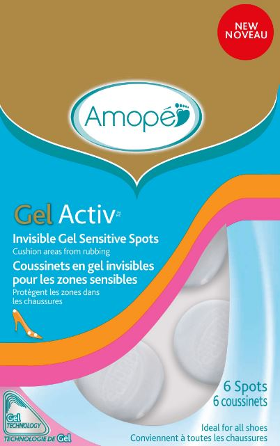 AMOPE® GelActiv™ Invisible Gel Sensitive Spots
