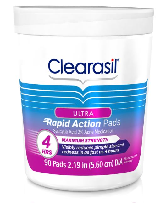 CLEARASIL® Ultra® Rapid Action Pads
