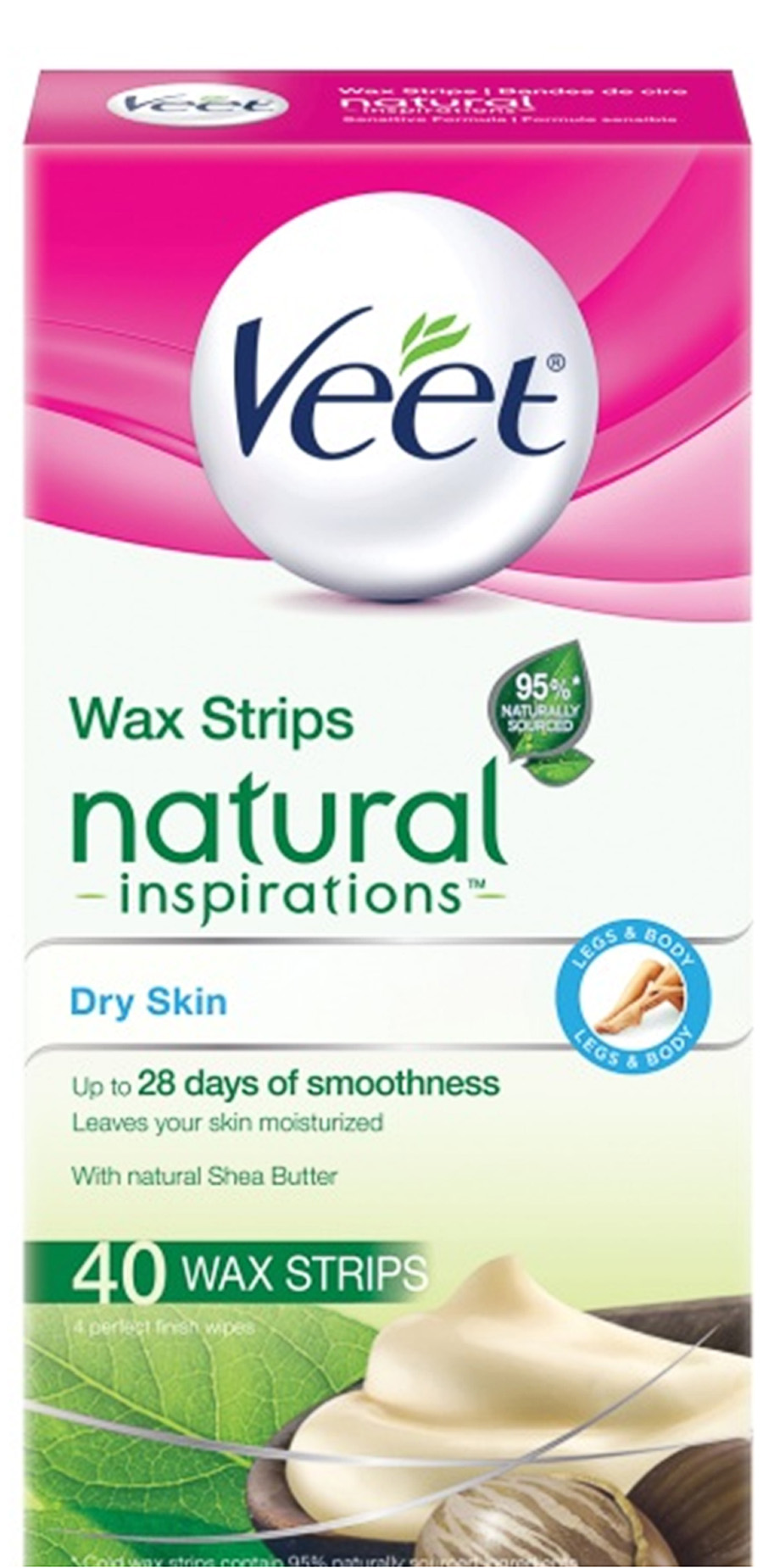 VEET® Natural Inspirations™ Wax Strips - Dry Skin (Strips) (Canada)