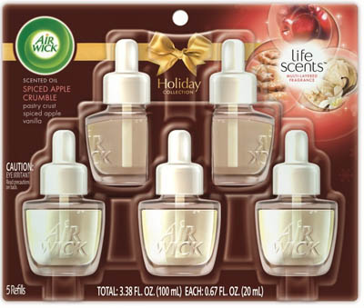AIR WICK Scented Oil  Spiced Apple Crumble Discontinued Photo